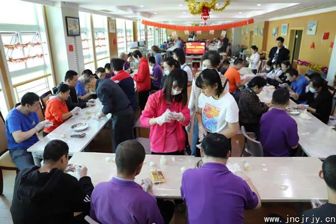 """济南市残疾人劳服中心举办""""我们的节日·国"""