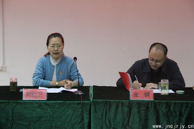 市残联党组成员耗更多、副理事长刘红卫同志到市残